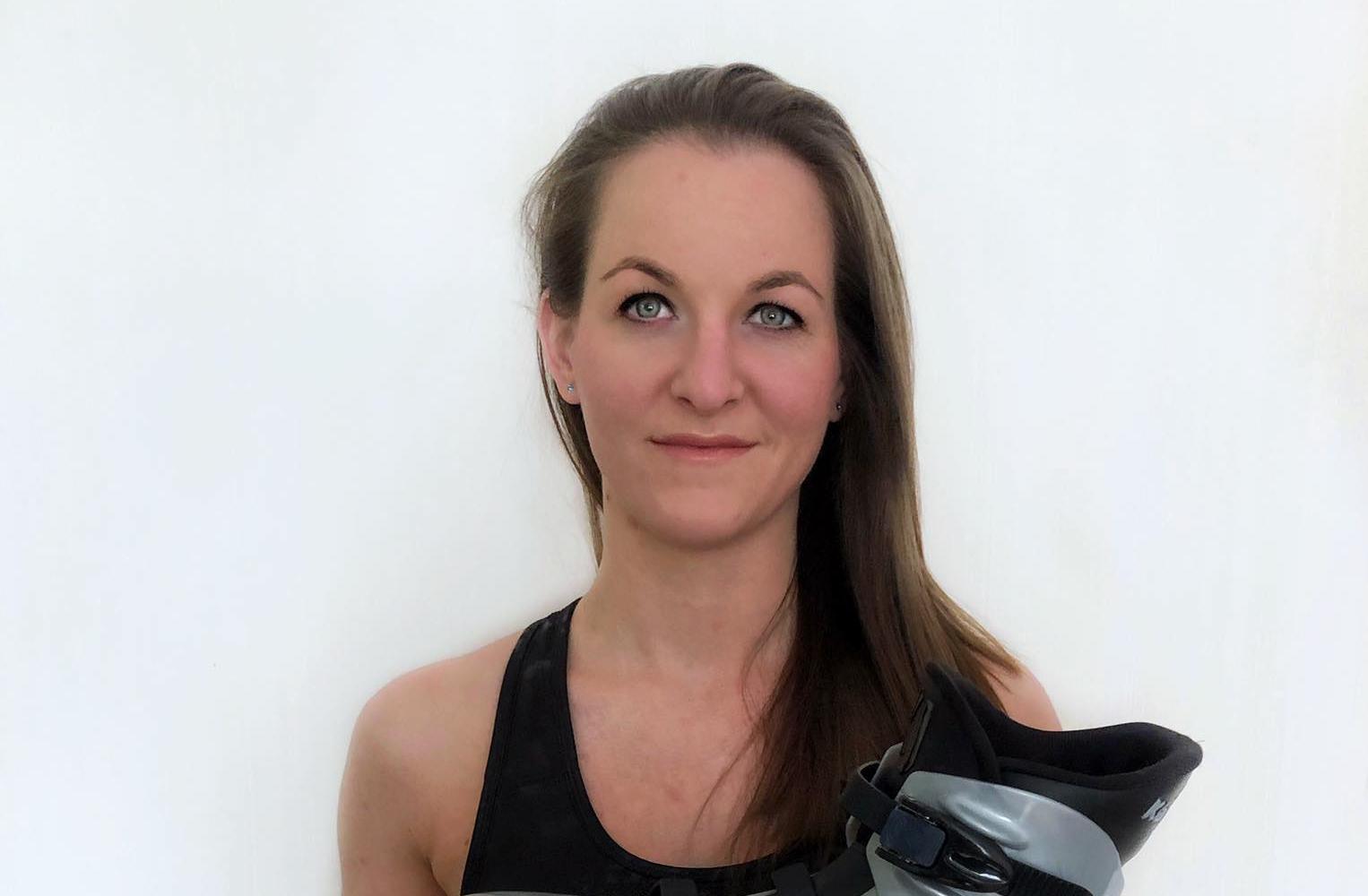 Bolla Júlia - fitnesz oktató; TRX-, speedy-, és kangoo jumps tréner
